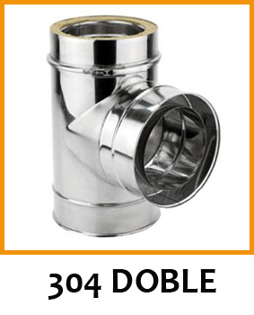 Tubo Inox 304 Doble Pared